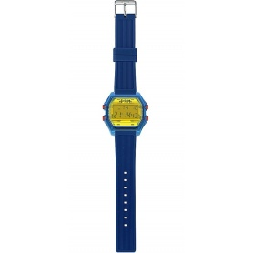 Men's digital watch I AM yellow / blue - IAM106302