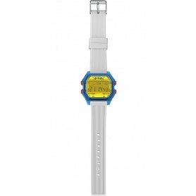 Men's digital watch I AM yellow / white - IAM106305