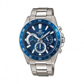 Casio Edifice Classic Uhr Stahl Chronograph - EFV-570D-2AVUEF