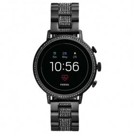 Fossil Smart Uhr Fossil Q Venture Schwarz Swarovski - FTW 6023