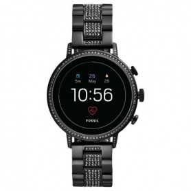 Fossil Smart Watch Fossil Q Venture Black Swarovski - FTW 6023
