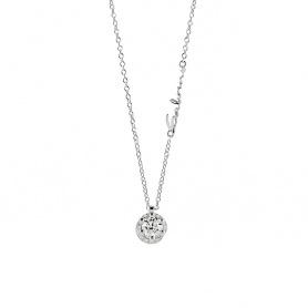 Salvini Poesia Halskette mit zentralem Diamanten und Kontur - 20068984