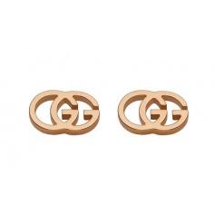 Gucci GG Tissue pink gold earrings - YBD094074003
