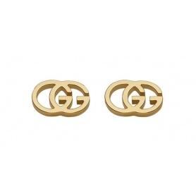 Gucci GG Tissue Gelbgold Ohrringe - YBD094074002