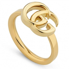 Gucci GG Running Ring yellow gold - YBC525690001