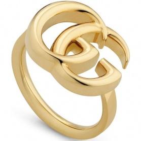 Anello Gucci GG Running oro giallo grande - YBA525686001