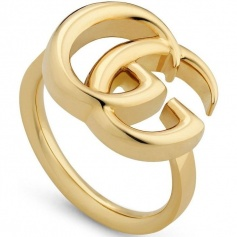 Gucci GG Running Ring yellow gold large - YBA525686001