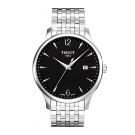 Tissot Tradition watch Gent black - T0636101105700