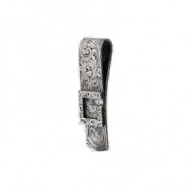Geldscheinklammer Gucci G Quadro in Silber - YBF552386001