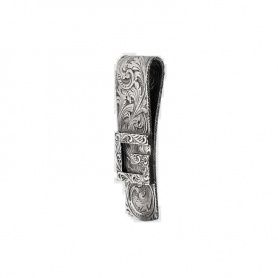 Money clip Gucci G Quadro in silver - YBF552386001