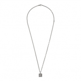 Gucci necklace with cube G Silver pendant picture - YBB552768001
