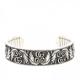 Gucci Starres Armband mit Doppel G Blatt Motiv - YBA551907001