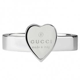 Anello Gucci con cuore argento - YBC223867001