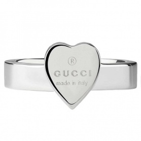 Gucci ring with silver heart - YBC223867001