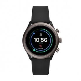 Fossil Uhr Smartwatch Sport schwarz Silikon - FTW4019