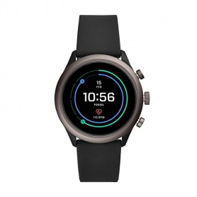 Fossil watch Smartwatch sport black silicone - FTW4019