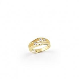 Annamaria Cammilli Dune Ring in Yellow Gold - GAN2662U