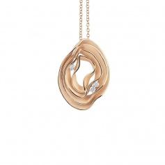 Annamaria camilli Dune necklace in orange gold GPE2444J
