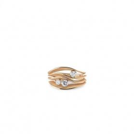 Annamaria Cammilli Dune Edler Ring in orange Gold
