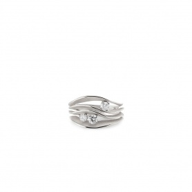 Annamaria Cammilli Dune Precious ring in white gold