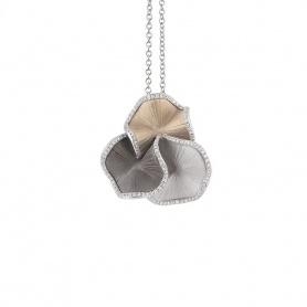 Annamaria Cammilli Sultana pendant in gold and diamonds GPE1813