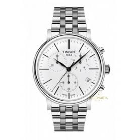 Tissot Carson Premium Uhr Stahl Chronograph