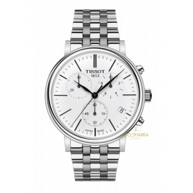 Tissot Carson Premium Watch Steel Chronograph