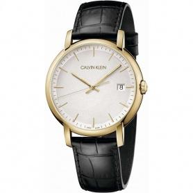Unisex Calvin Klein Uhr Established Gold - K9H215C6