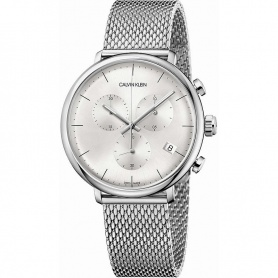 Calvin Klein Uhr High Noon Silber Chronograph - K8M27126