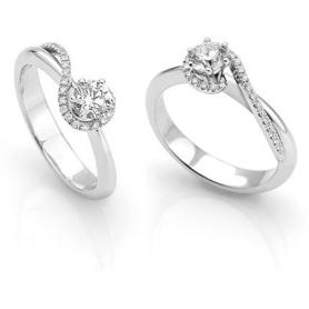 Anello con Diamanti - AB13578