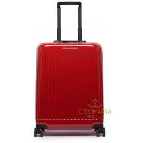 Piquadro ultra slim rigid red trolley Seeker - BV4425SK70 / R