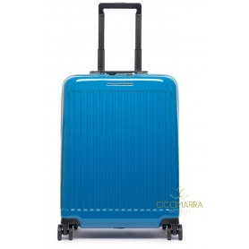 Piquadro ultra slim rigid trolley blue Seeker - BV4425SK70 / BLU