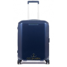 Piquadro ultra slim rigid trolley blue PiQ3 - BV4425CB / BLU