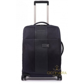 Piquadro ultra slim four wheels Brief- BV4343BR / BLUE trolley