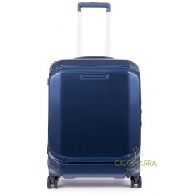 Piquadro trolley with PC blue rigid PiQ3 - BV4736CB / BLU