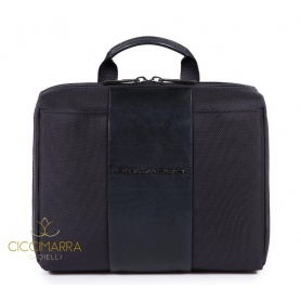 Beauty Piquadro da viaggio con gancio Brief blu - BY3058BR/BLU