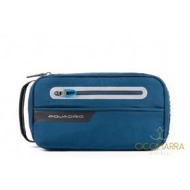 Beauty Piquadro da viaggio Coleos blu - BY4338OS39/BLU