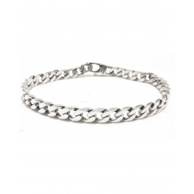 Spadarella Man chain bracelet in silver lobster clasp