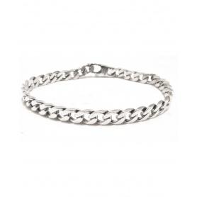 Spadarella Man Kettenarmband in Silber Karabinerverschluss