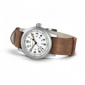 Mechanische Hamilton Khaki Field Uhr braun - H69439511