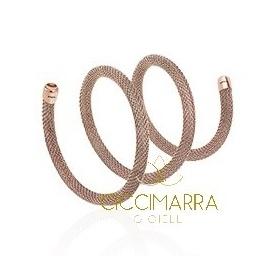Breil rosé steel bracelet New Snake - TJ2714