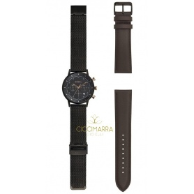 Breil men's watch Six3.Nine Milanese black TW1808
