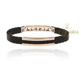 Breil Herrenarmband aus schwarzem Snap-Stahl - TJ2743
