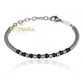 Breil B Fence bracelet with mini spheres of Shungite TJ2778