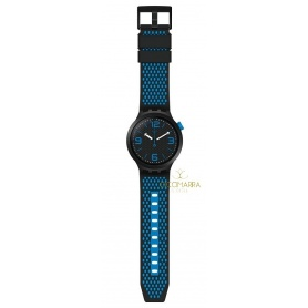 Swatch Big Bold Bbblue watch - SO27B101