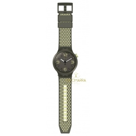 Swatch Big Bold Bbblanco Uhr - SO27M102