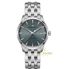 Hamilton Jazzmaster watch steel - H32451142