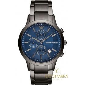 Uhr Emporio Armani Mann Chrono brüniert - AR11215