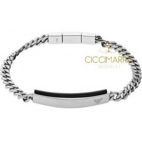 Emporio Armani Mann schwarz Stahlband - EGS2540040