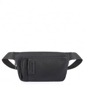 Piquadro P16 black pouch - CA4829P16 / CHEVN